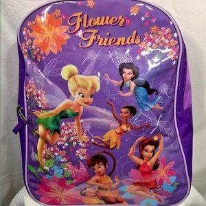 "💕Disney Fairies Flower Friends 15"" Backpack💕"